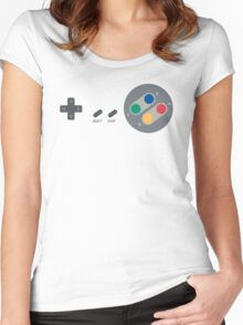 SNES Pad Women's Fitted Scoop T-Shirt
