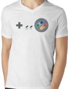 SNES Pad Mens V-Neck T-Shirt