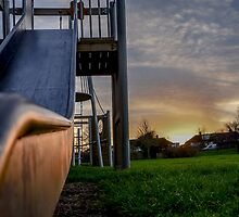 sunset slide  by ronnyvan