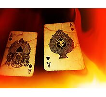 Aces of Fire Photographic Print
