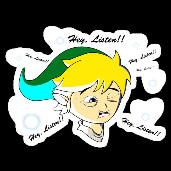 Zelda : Link & Navi - Hey Listen!! by Artificialx