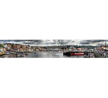 Whitby port Panorama Photographic Print