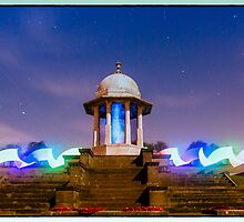 chattri monument light painting 3 by martbarras