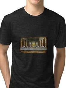 the last pugner Tri-blend T-Shirt