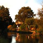 Sunset Lancaster Canal by Kingsleyc
