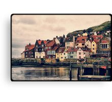 Retro Whitby Canvas Print