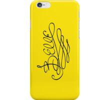 Belle's Autograph iPhone Case/Skin
