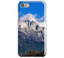 Jade Dragon Snow Mountain in Lijiang, China iPhone Case/Skin