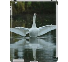 Swan Flight iPad Case/Skin