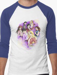 Once Upon a Princess Men's Baseball ¾ T-Shirt