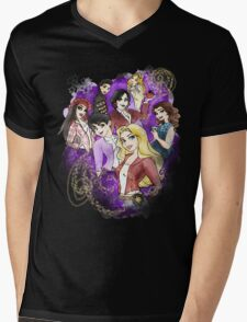 Once Upon a Princess Mens V-Neck T-Shirt