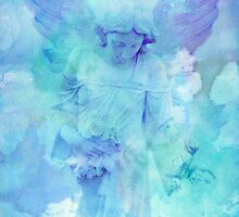 Angels Watching Over Me by Marie Sharp by Marie Sharp