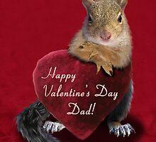 Valentine's Day Squirrel by jkartlife