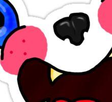 I'm a cute monster Sticker