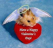 Valentine's Day Hamster by jkartlife