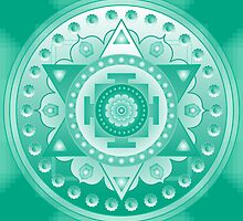 Chakra Mandala High Heart by Sarah Niebank
