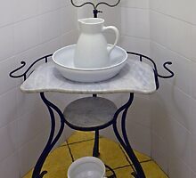 Wash-stand from the fifties by Arie Koene