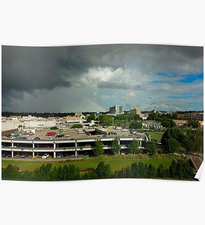 City Rainbow Poster