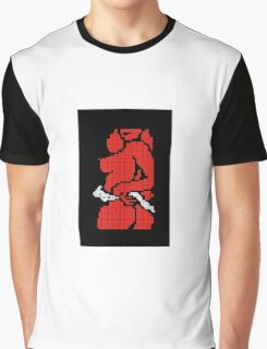 Red Hot Dot Graphic T-Shirt