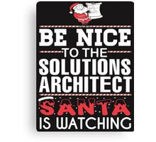Solutions Architect Canvas Print
