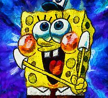 A Giddy Spongebob by Joe Misrasi