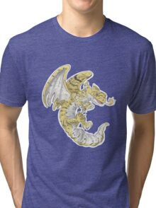 Leopard Gecko Dragon! Tri-blend T-Shirt