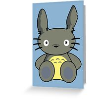 Hello Totoro Greeting Card