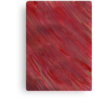 STREAKING IN RED Canvas Print