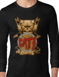 slayer cat Long Sleeve T-Shirt