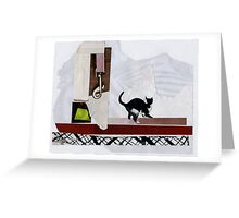 Barbie doesn't live here anymore Greeting Card