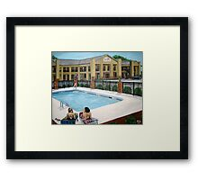 Cochran Inn & Suites Framed Print