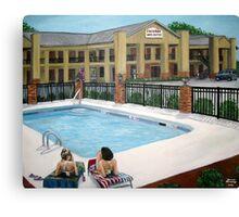 Cochran Inn & Suites Canvas Print