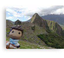 Drake Sackboy at Machu Picchu Canvas Print