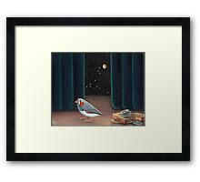 A most peculiar way Framed Print