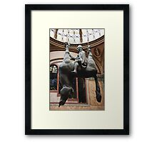 St. Wenceslas Riding A Dead Horse Framed Print