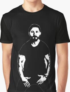 Shia LaBeouf Graphic T-Shirt