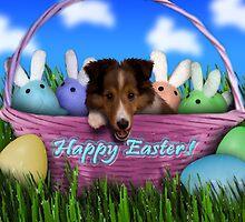 Easter Sheltie Puppy by jkartlife