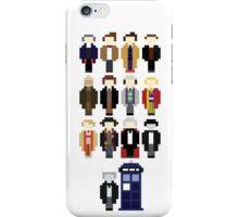 Pixel Doctor Who Regenerations iPhone Case/Skin