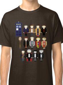 Pixel Doctor Who Regenerations Classic T-Shirt