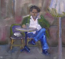 parler au téléphone by Tash  Luedi Art