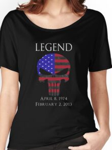 RIP Chris Kyle Women's Relaxed Fit T-Shirt