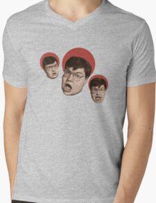 CRISIS ALERT Mens V-Neck T-Shirt