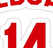 High School Musical: Wildcats Red Sticker