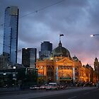Flinders St Station by david gilliver