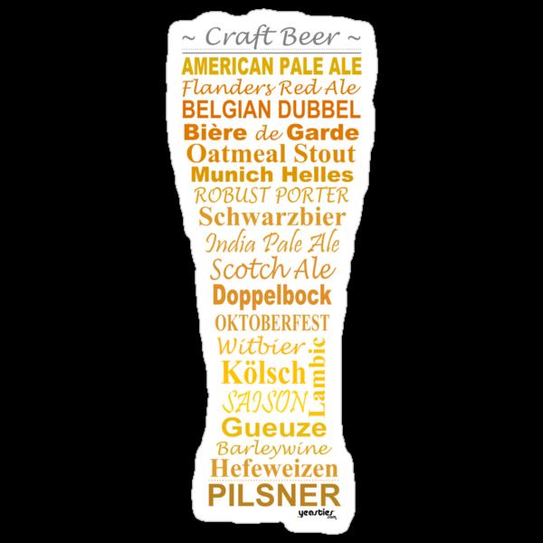 Craft Beer - Sticker by yeasties