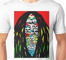 Rasta Skeletons Unisex T-Shirt