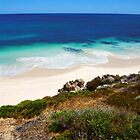 Looking down on Jindalee beach by georgieboy98