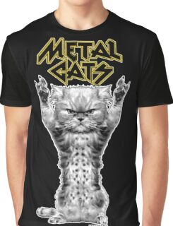 metal cats Graphic T-Shirt