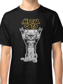 metal cats Classic T-Shirt