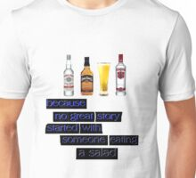 ALCOHOL Unisex T-Shirt